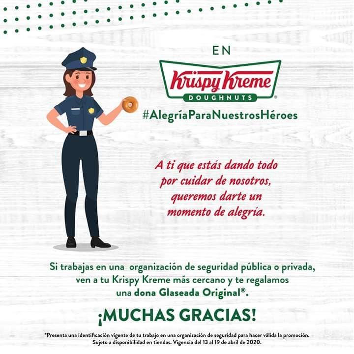 Dona gratis Krispy Kreme