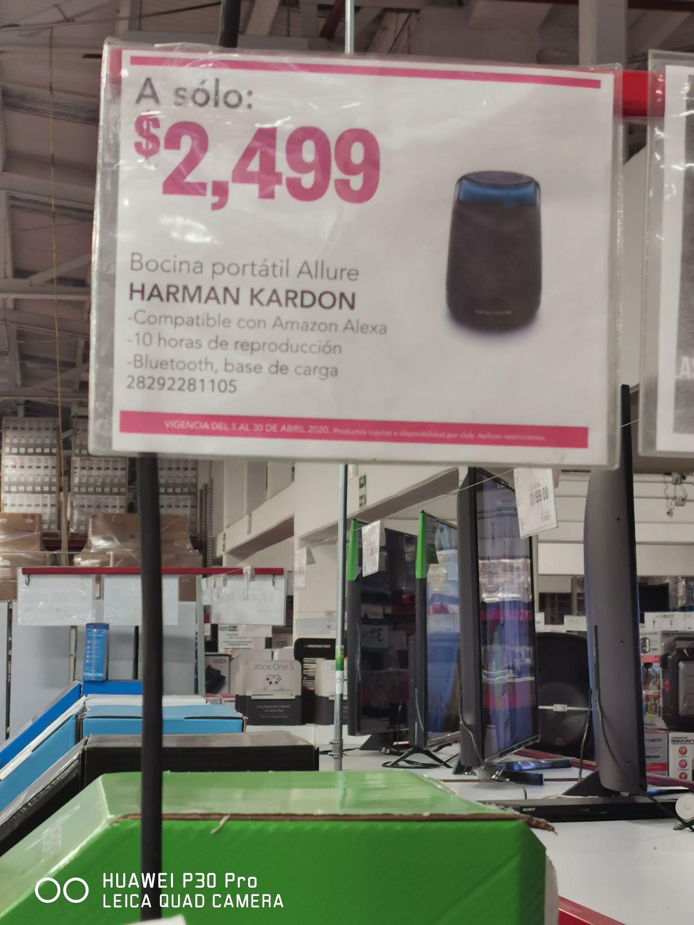 City Club: Harman Kardon Allure Portable con 42% de descuento