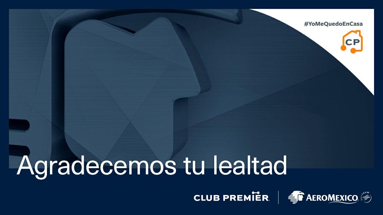 Club Premier Aeromexico: Mantiene tu nivel por un año más
