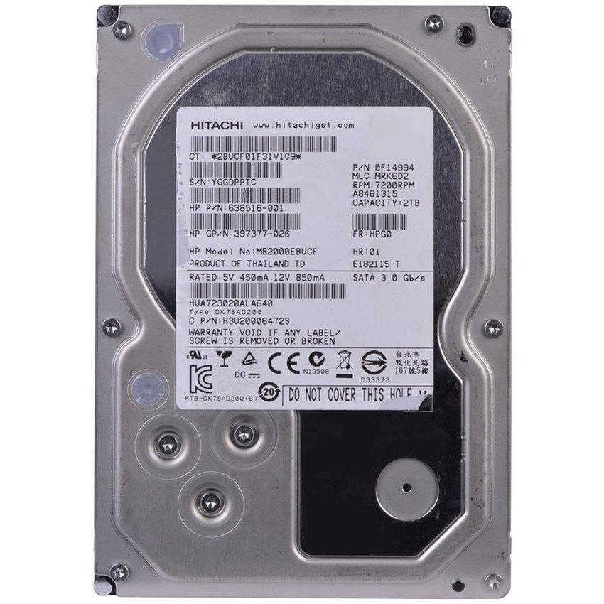 Linio: Disco Duro Interno para PC 2TB de 3.5'' a 7200 RPM HITACHI
