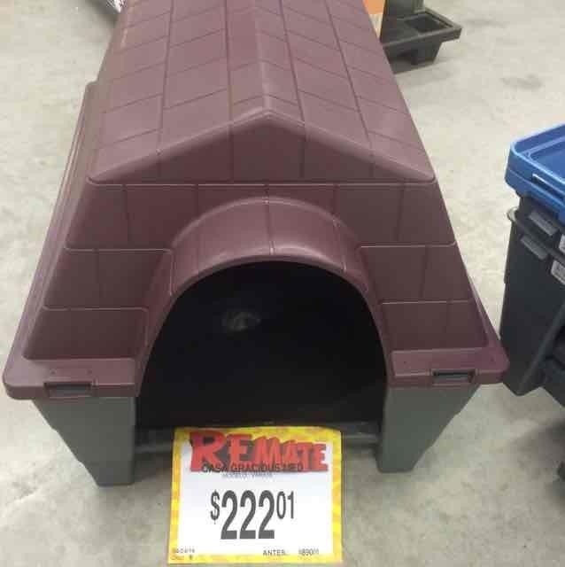 Bodega Aurrerá: casa para perro a $222.01