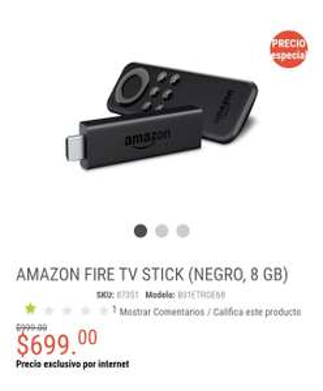 radioshack Amazon fire tv stick