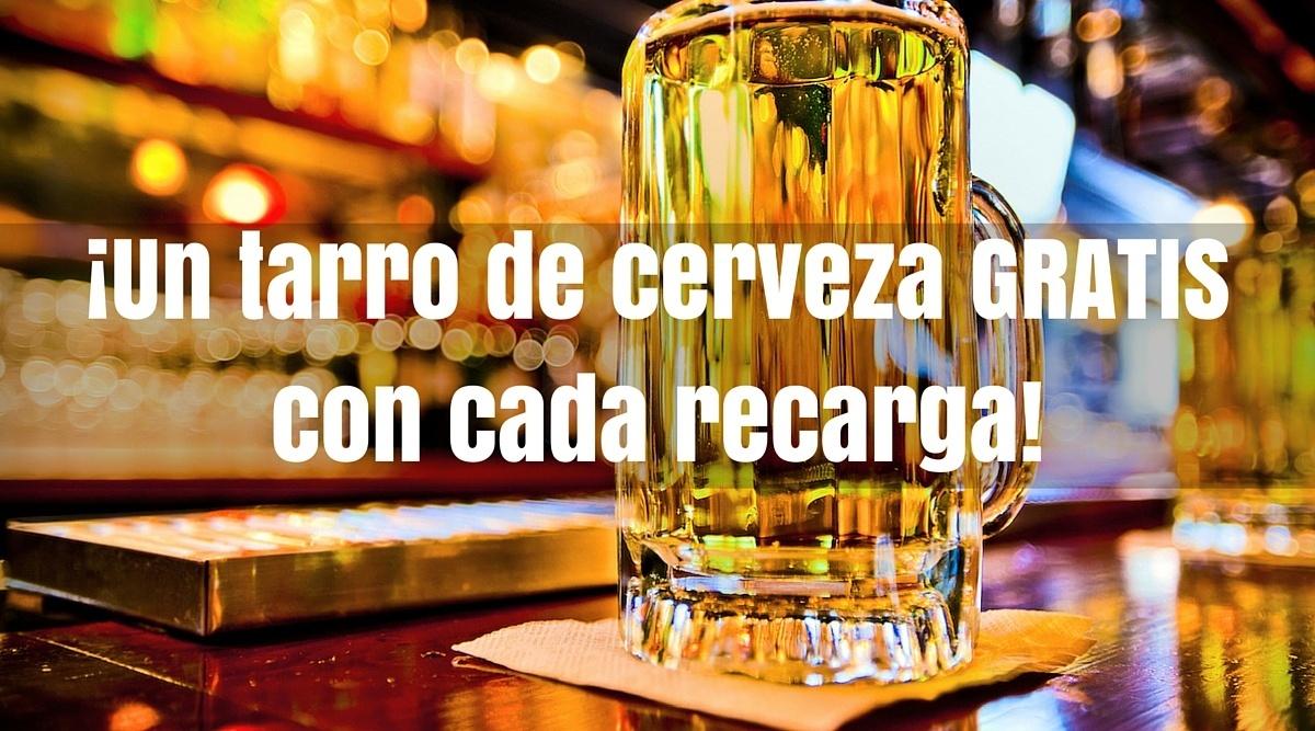 Undostres: Te regala un tarro de cerveza en La Cerveceria de Barrio con cada recarga