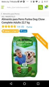 Sam's Club: Alimento para Perro Purina Dog Chow Complete Adulto 22.7 kg