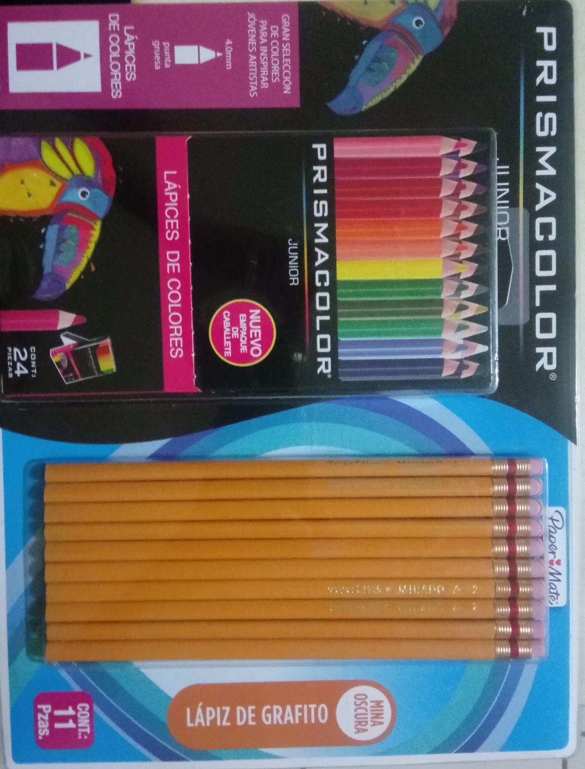 Sam's Club: Colores Prismacolor 24 piezas + 10 lápices Mirado (y otras ofertas)