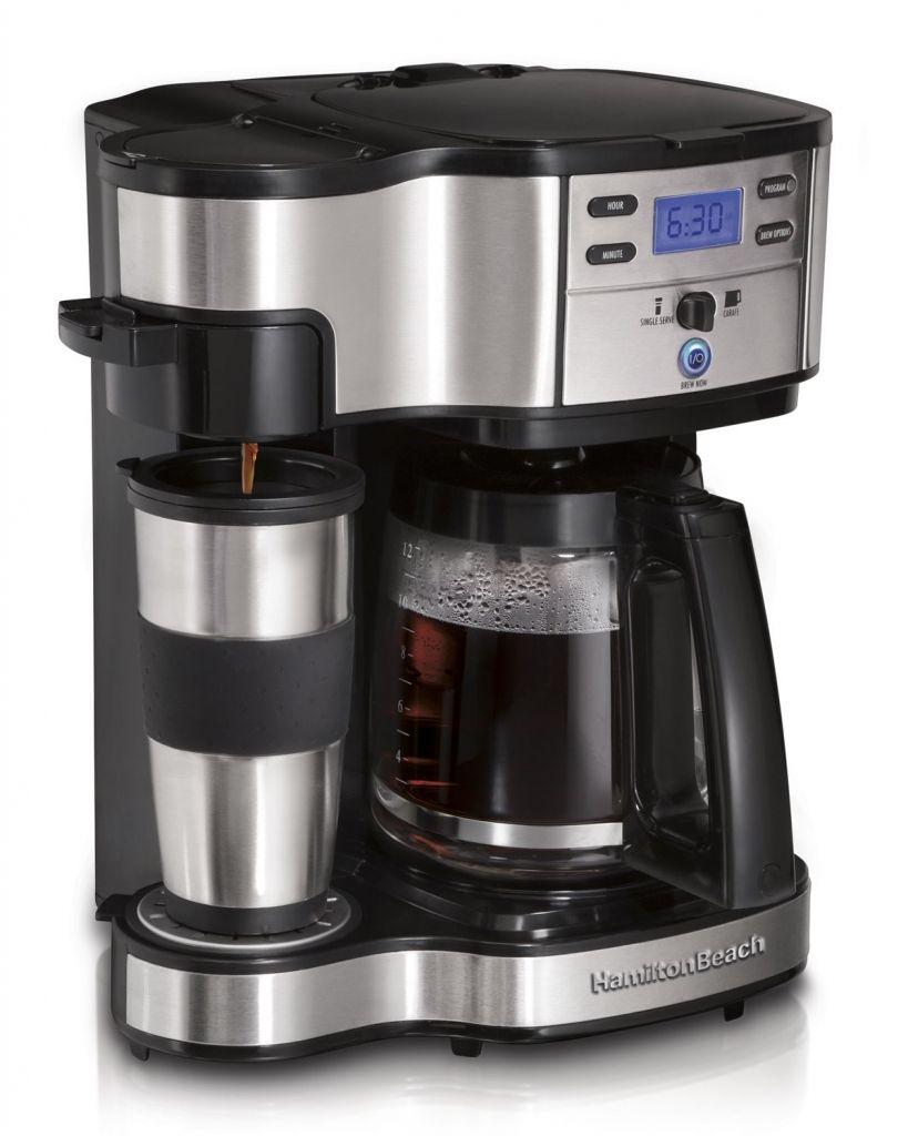 Amazon: Cafetera Hamilton Beach modelo 49980A a $ 785