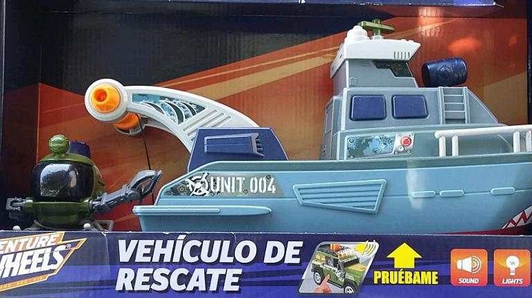 Bodega Aurrerá: vehiculo de rescate Adventure Wheels a $45.01
