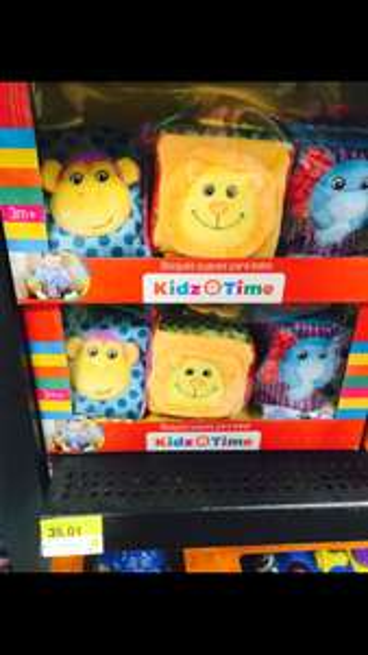 Walmart Valle: bloques suaves para bebé Kidz Time a $35.01
