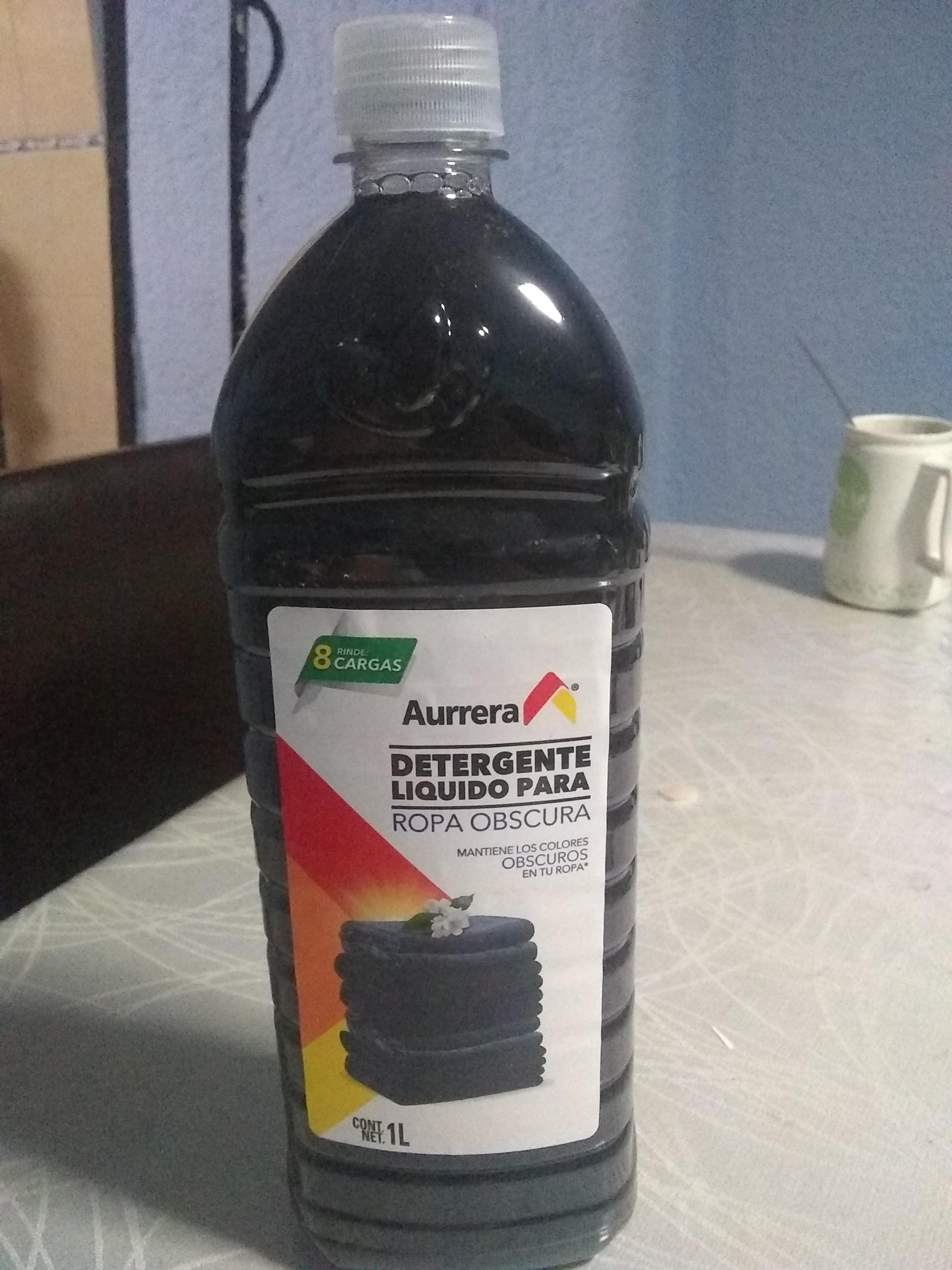 Bodega Aurrera: Detergente líquido ropa obscura