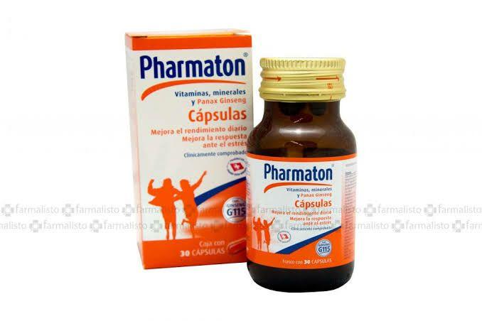 Chedraui: Multivitamínico Pharmaton G115 30 Cápsulas