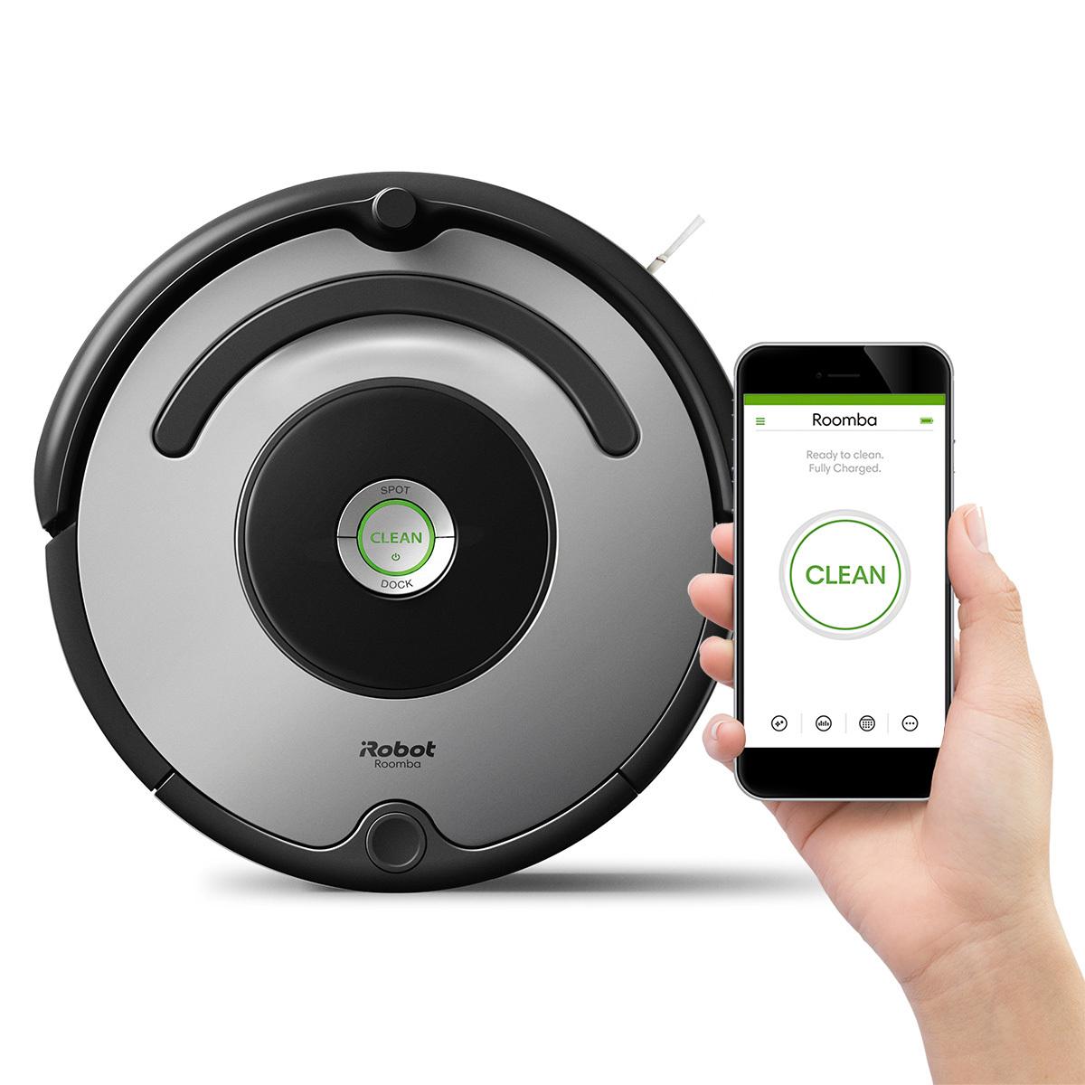 Costco Aspiradora iRobot, Roomba 677 (675), programable con conexión a Wi-Fi + 6 MSI c/Banamex