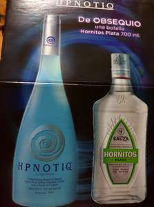 Superama: Hpnotiq± tequila Hornitos plata 700ml $214.02