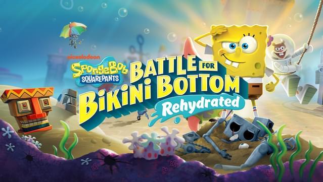 Preventa GOG: Bob Esponja Batalla por Fondo Bikini-Rehidratado
