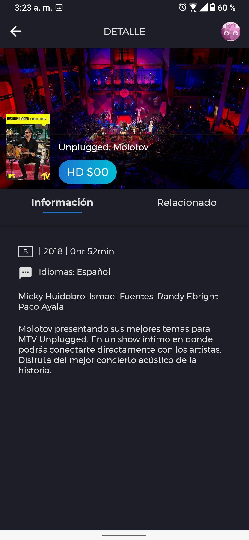 Totalplay 11 conciertos MTv Unplugged Gratis