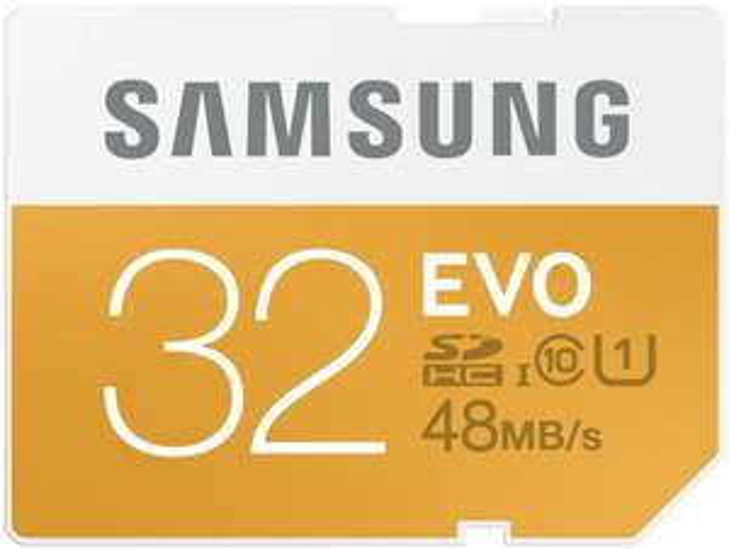 Amazon: Tarjeta SDHC 32GB Samsung Electronics EVO Clase 10 de hasta 48 Mb/s a $183