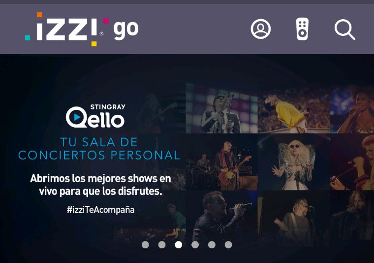 18 conciertos gratis en izzi TV e Izzi GO de Qello