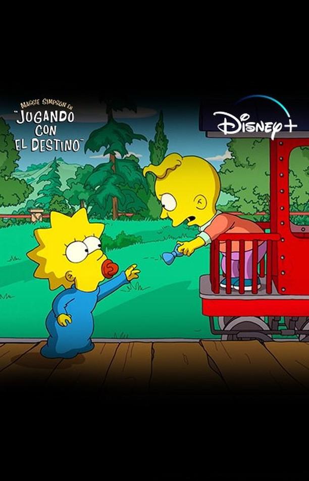 """Disney +: Sólo hoy (19/04) GRATIS cortometraje: Maggie Simpson en """"Jugando con el destino"""""""