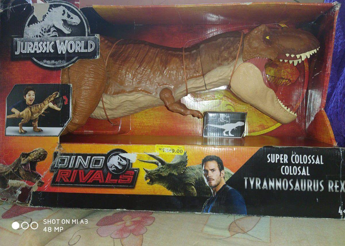 Bodega Aurrera: Dinosaurio super colosal