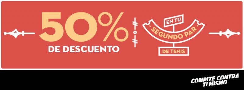 MisterTennis e Innova Sport: 50% de descuento en el segundo par de tenis