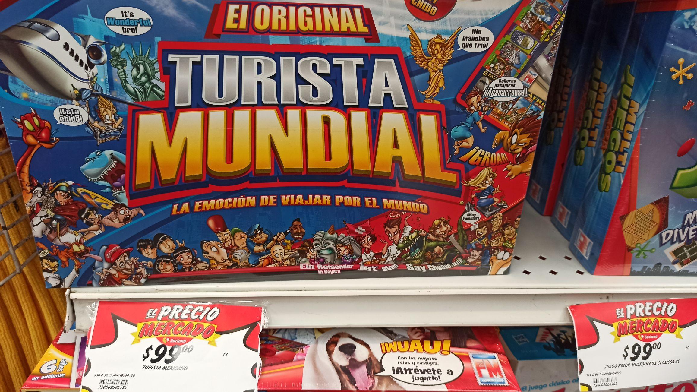 Soriana: Turista Mundial Original
