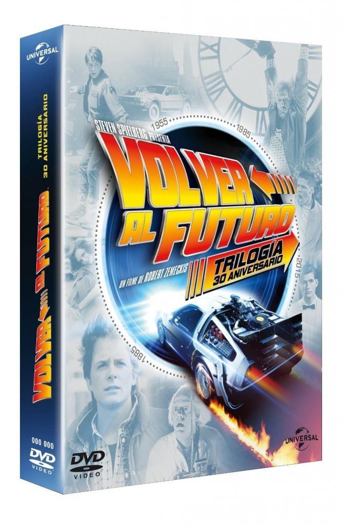 Amazon: Trilogía Volver al futuro en DVD a $119