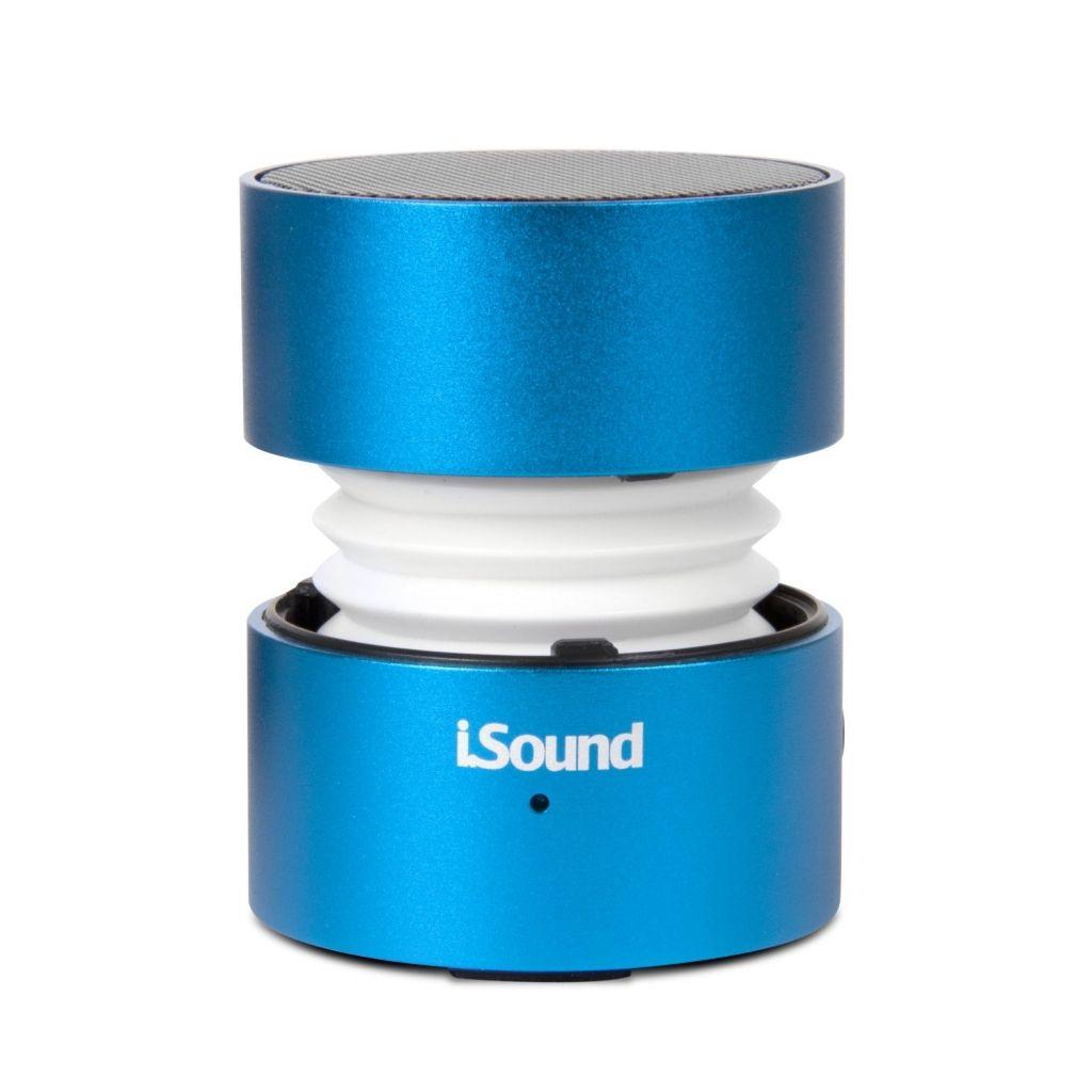 Amazon: mini altavoces iSound Fire Glow Speaker azul a $333, $286 con Saldazo