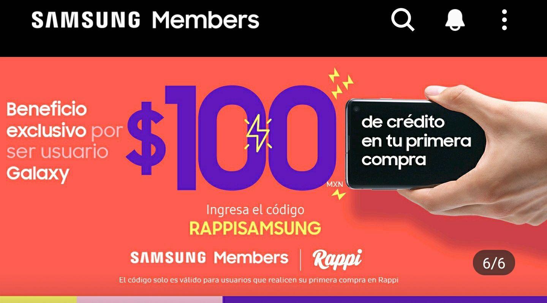 RAPPI: $100 de crédito en tu PRIMERA compra (usuarios nuevos)