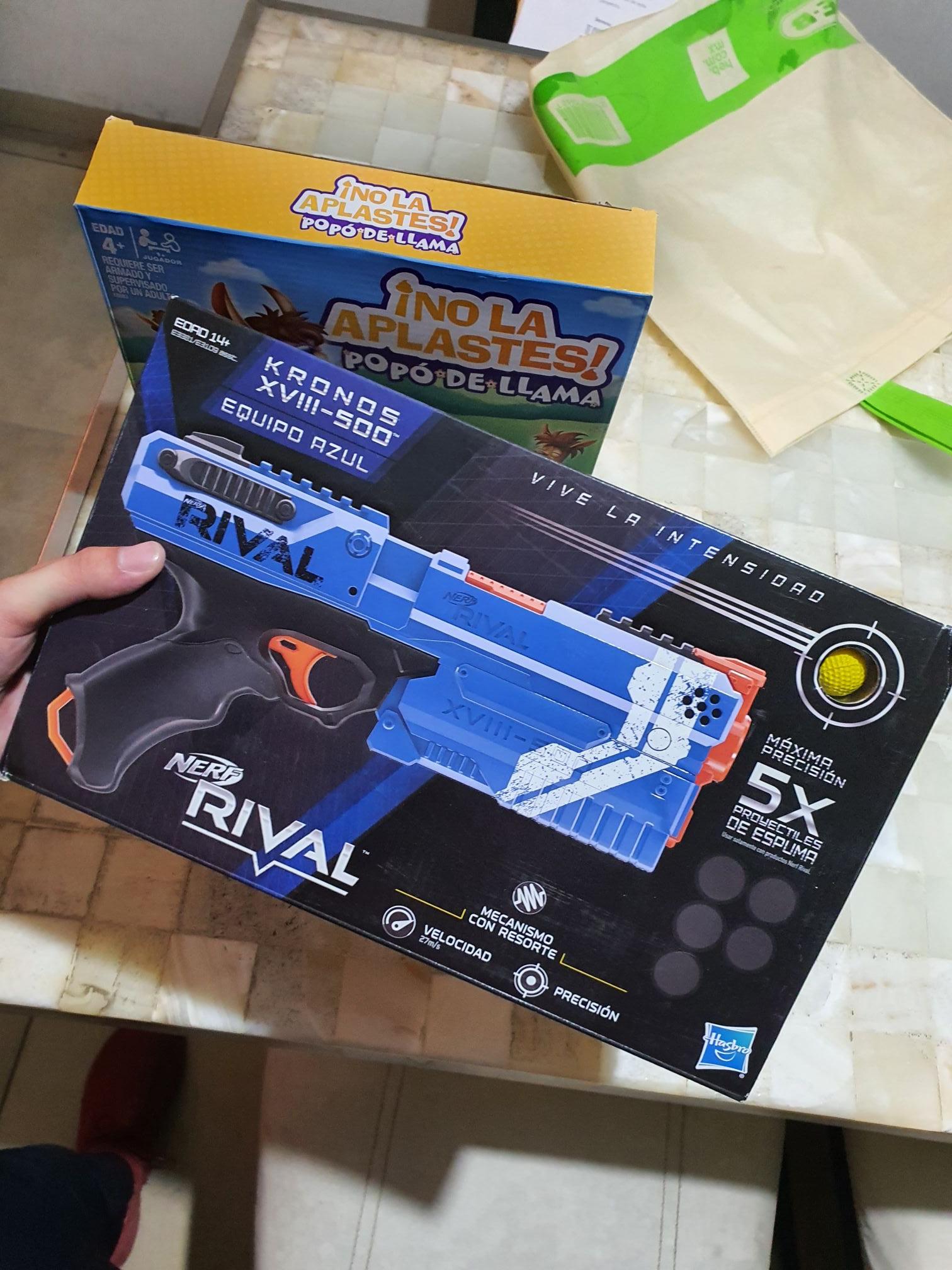 Walmart sendero mty pistola Nerf