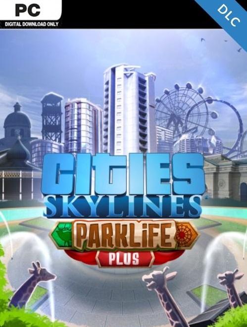 Cities: Skylines: DLC Parklife Gratis PC
