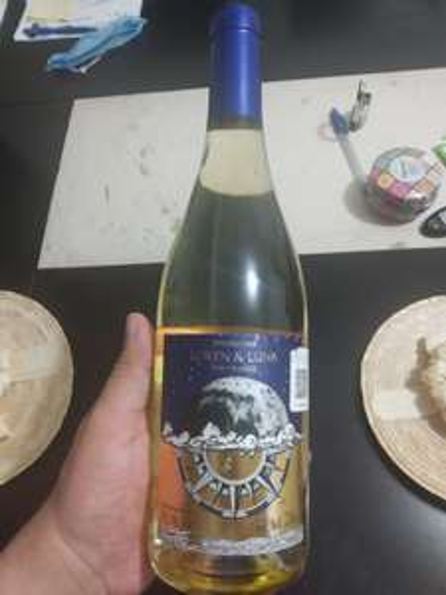 Sam's Club Vino blanco loren y luna