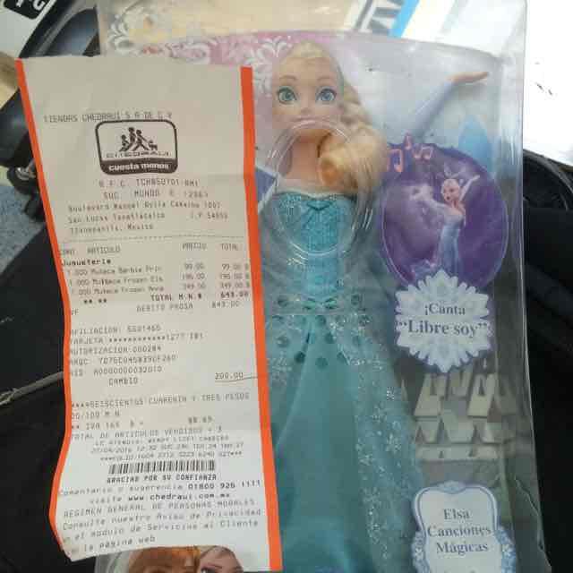 Chedraui: Elsa Canciones Mágicas a $195