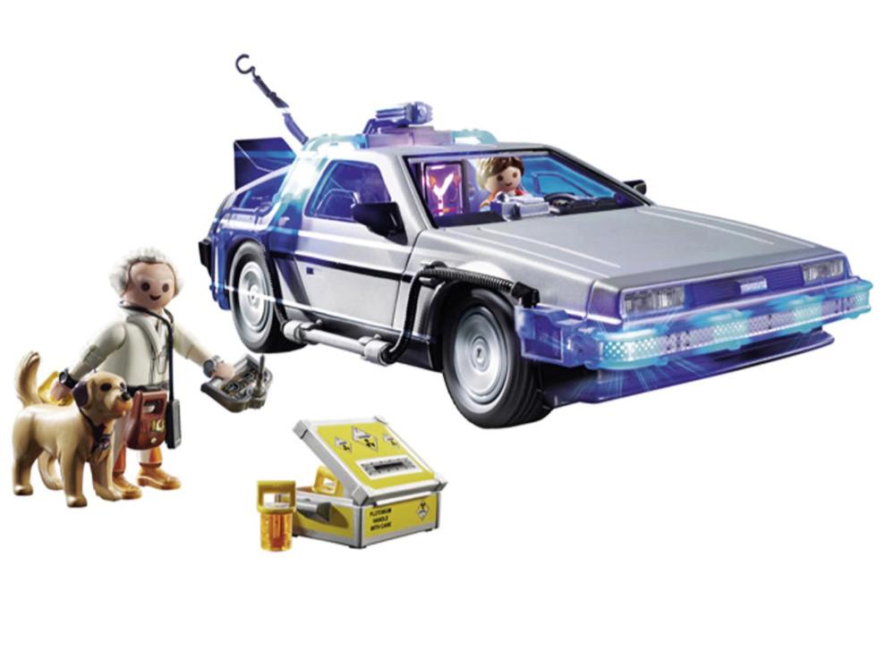 Liverpool: Set de Construcción Delorean Playmobil Volver al Futuro