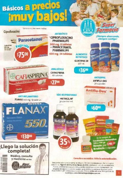 Folleto Farmacias Guadalajara: 3x2 en Always, descuentos en pañales, chocolates y +