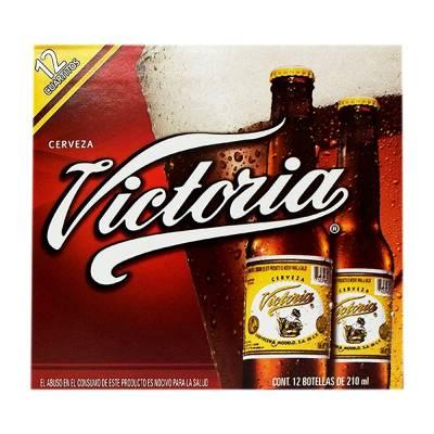 Superama en línea: 2 docenas de cerveza oscura Victoria 210ml c/u por $115