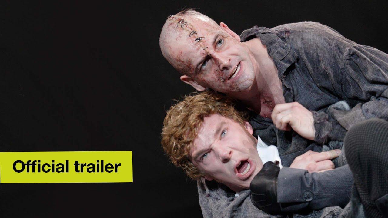 Youtube: National Theatre of London presenta Frankenstein con Benedict Cumberbatch y Jonny Lee Miller