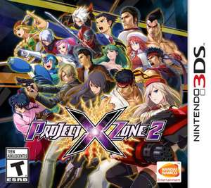 Amazon: Project X Zone 2 para Nintendo 3DS - Standard Edition $288.57