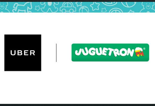 Uber: Juguetes gratis  29 de abril