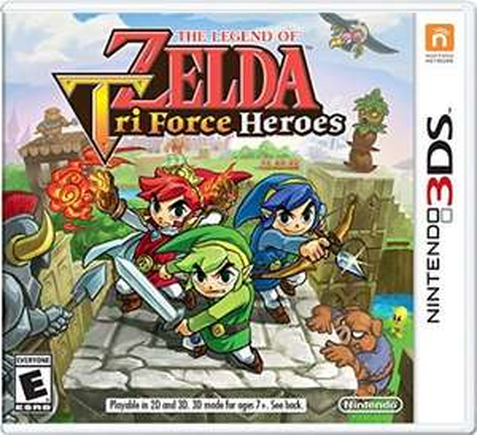 Amazon: The Legend Of Zelda: Triforce Heroes a $575