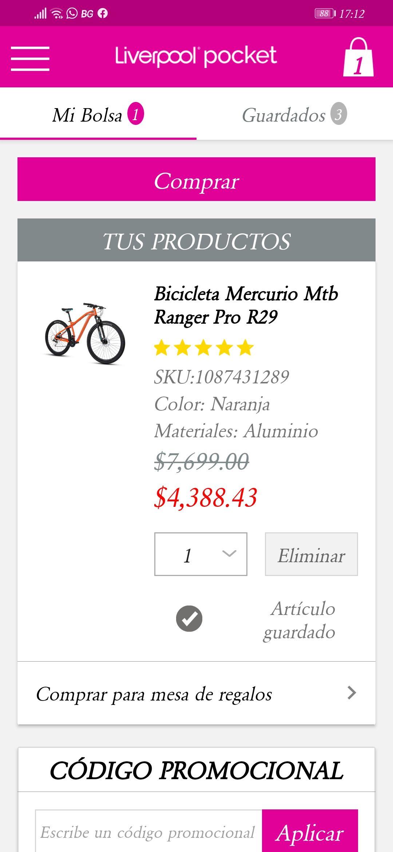 Liverpool: Bicicleta Mercurio MTB Ranger Pro R29