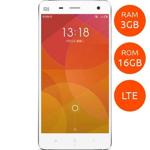 Linio: Xiaomi Mi 4 Blanco LTE (3G en México) 3gb RAM 16GB ROM a $3999; o a $3555 y 18 MSI con las 120 horas Bananex