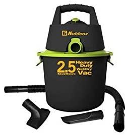 Amazon: Koblenz WD-2.5K - Aspiradora seco/mojado con 3 Accesorios, 2.5 Galones