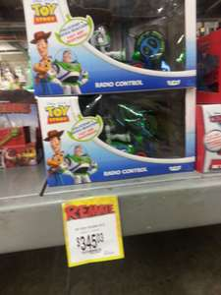 Bodega Aurrerá Abastos Culiacán: Carrito radio control Toy Story a $345.03