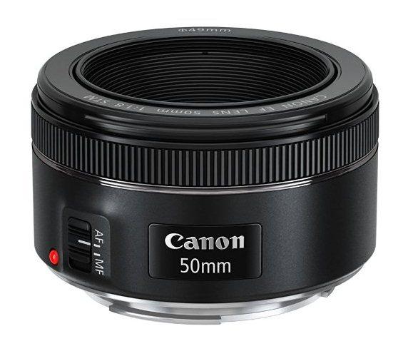 Amazon: Lente Canon EF 50mm f/1.8 STM $900 (vendido por un tercero)
