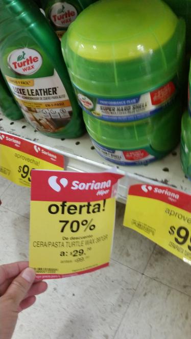 Soriana: artículos de limpieza para autos con 70% de descuento