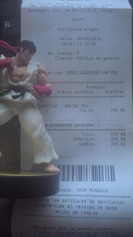 Game Planet: Amiibo de Ryu a $279