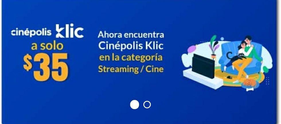 UnDosTres: Cinépolis Klic a solo 35 pesos