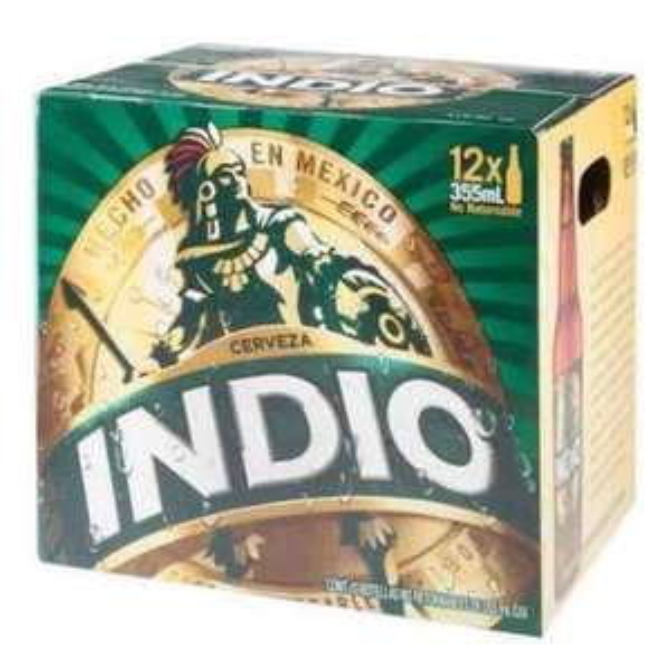 Walmart Cuernavaca: 3 doce pack Indio de 355 ml a $232