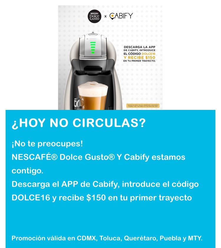 Cabify: cupón de $150 para usuarios nuevos