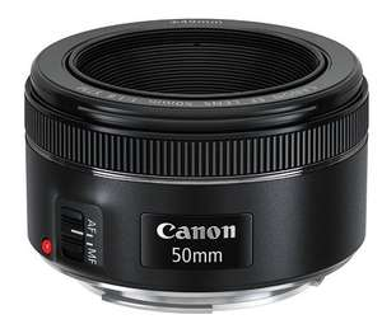 Amazon: Lente Canon EF 50mm f/1.8 STM $1481.79 (vendido por un tercero)