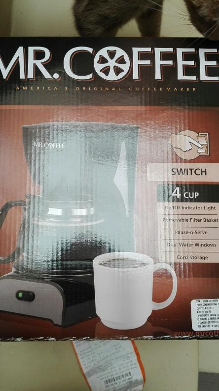 Chedraui: cafetera Mr Coffee de 4 tazas a $159